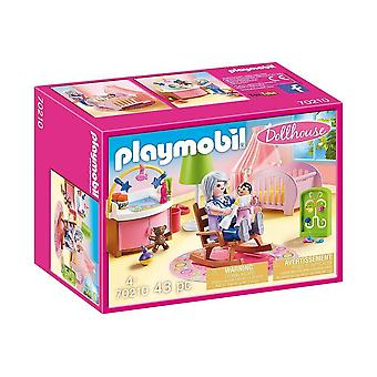 playmobil 70210 dollhouse nursery playset 43pcs for ages 4 and above