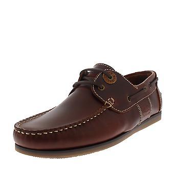 Miesten Barbour kelarumpua nahka mahonki tyhjäntoimittaja rento mokkasiinit Matalat kengät