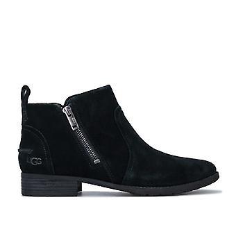 Women's Ugg Australia Aureo II Suede Waterproof Boots in Black