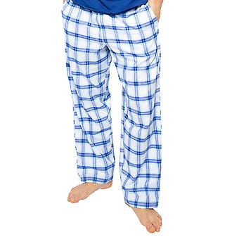 Cyberjammies Dylan 6506 Männer's Blue Mix Check Pyjama Hose