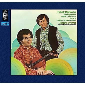 Perlman / Previn - Mendelssohn & Bruch Violin Concertos [CD] USA import