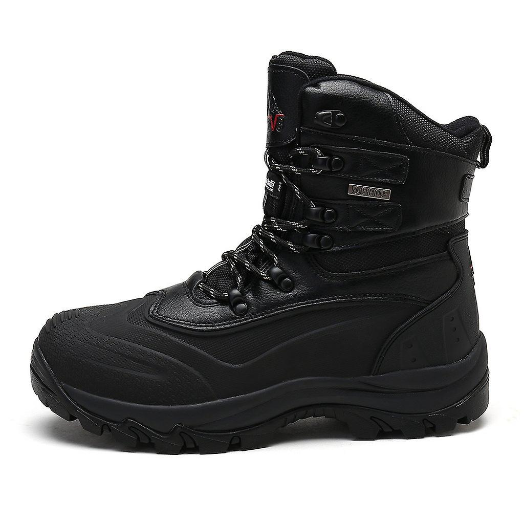 Nortiv 8 Men's Insulated Waterproof Construction Rubber Sole Winter Snow Skii...