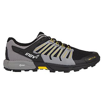 Inov8 Roclite 275 mens G-Grip gedempte Trail Running Shoes (grafeen) zwart/geel
