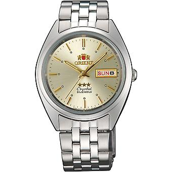 Orient 3 Star Watch FAB0000AC9 - Stainless Steel Unisex Automatic Analogue