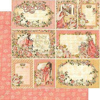 Grafik 45 Ihre Hoheit 12 x 12 Zoll PapierPack