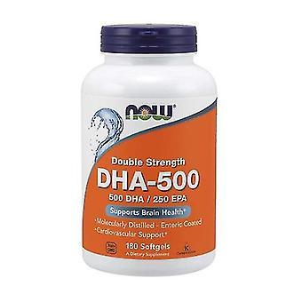 DHA-500, 500 DHA / 250 EPA 180 capsules