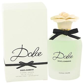 Dolce floral tropfen eau de toilette spray von dolce & gabbana 531777 75 ml