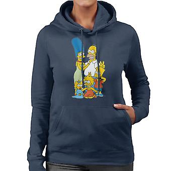 The Simpsons Silly Photo Women's Hooded Sweatshirt
