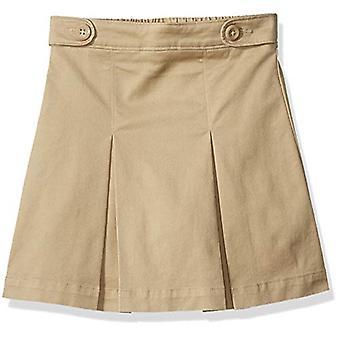 Essentials Girl's Uniform Skort, Khaki, L(S)
