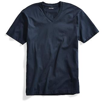 """Goodthreads Men's """"The Perfect V-Neck T-Shirt"""" Short-Sleeve Cotton, Washed Na..."""