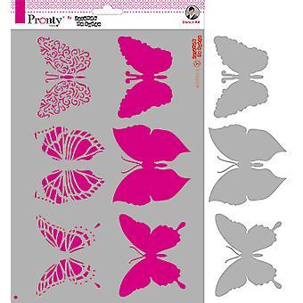 Pronty Crafts Butterflies A4 Stencil
