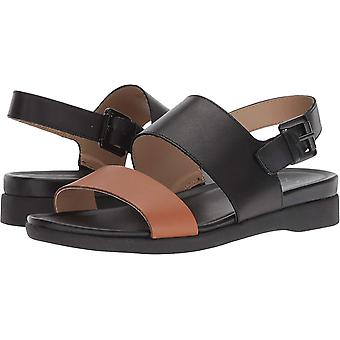 Naturalizer Womens Emory Leather Open Toe Casual Slingback Sandals