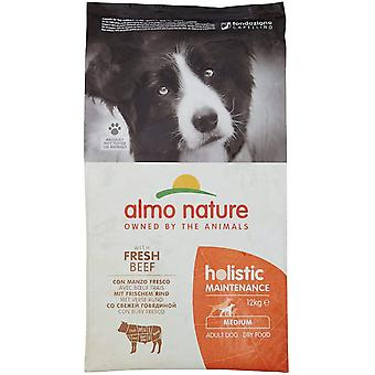 Almo Nature Holistic Maintenance Medium Adult Dog Dry Food Beef - 12kg