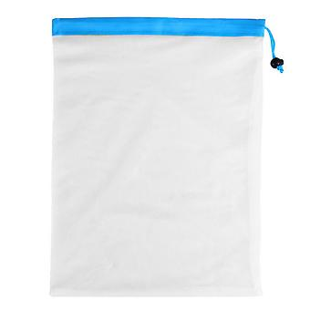 Polyester Reusable Mesh Fruit Bags 16.93x12.20inch Large