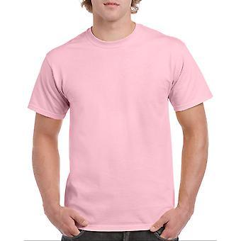 Gildan G5000 Plain Heavy Cotton T Shirt in Light Pink