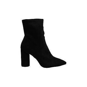BCBGeneration Women's Shoes müttefiki Süet Sivri Toe Orta Buzağı Moda Botları