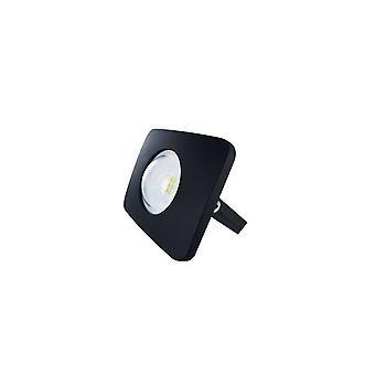 LED Floodlight 10W 4000K 1000lm Matt Black IP65