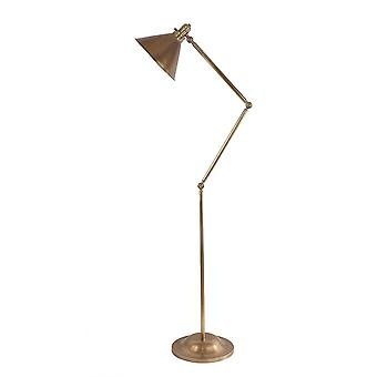 Elstead Provence - 1 lys gulvlampe Aged Brass, E27
