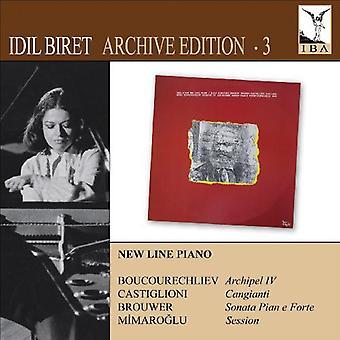 Mimaroglu/Castiglioni/Boucourechliev/Brouwer - Idil Biret Archive Edition, vol. 3 [CD] USA importare