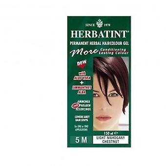 Herbatint - luz Mahog peito cabelo Colo 5M 150ml