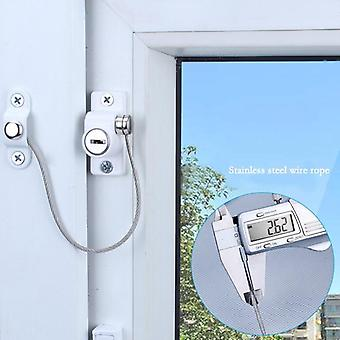 Sliding Window Lock , Stainless Steel Latches With Key