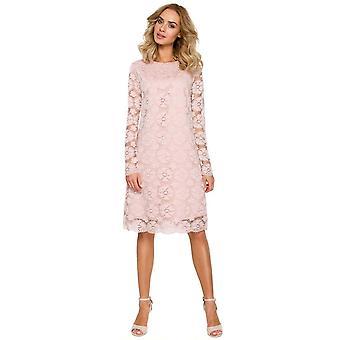Ružová moe šaty v91745