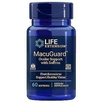Life Extension Macuguard Ocular Support mit Safran, 60 Softgels