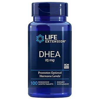 Life Extension DHEA, 25 mg, 100 dissolve tabs