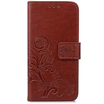 Leather Case for Sony Xperia XZ1 Brown BEFOSPEY-88