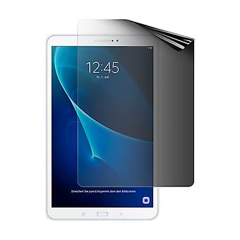Celicious Privacy 2-Way Portrait Anti-Spy Filter Screen Protector Film Compatible with Samsung Galaxy Tab A 10.1 2016 (SM-T580)