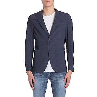 Traiano Tb05ts03tc20 Men's Blue Nylon Blazer