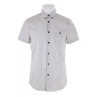 J Lindeberg Mens Ss Button Down Collar