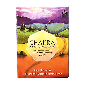 Chakra, Oracle Card Deck-complete Spirituel Tool Kit til at omdanne dit liv