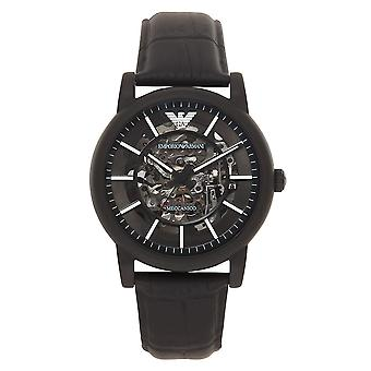 Armani Watches Ar60008 Black Automatic Mens Watch