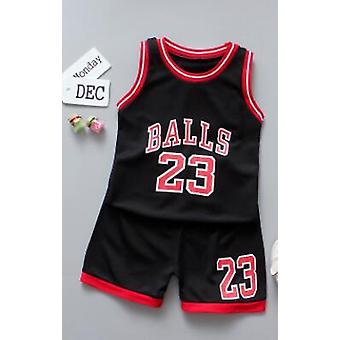Summer Child Cotton 2pcs Sets- Sports Lovely Suit Baby Suit, Fashion's Clothes