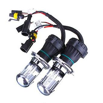 2Pcs 35W H4 HID Car Headlight Bi-xenon Hi/Lo Dual Beam Bulbs