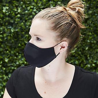 משי + כותנה בד מסכת פנים + קש מתכתי ניתן לעי זוגי