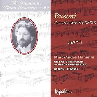 F. Busoni - Busoni: Piano Concerto, Op. 39 [CD] USA import