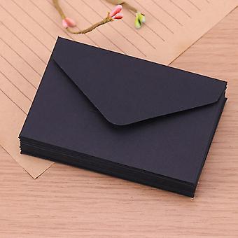 Mini papel em branco, envelopes de janela para convite de casamento, envelope