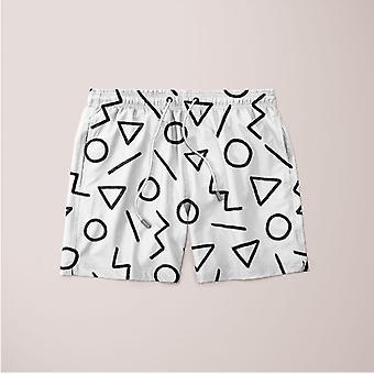 Happy pattern 3 shorts