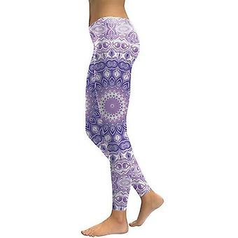 Mandala Flower Yoga/workout Leggings