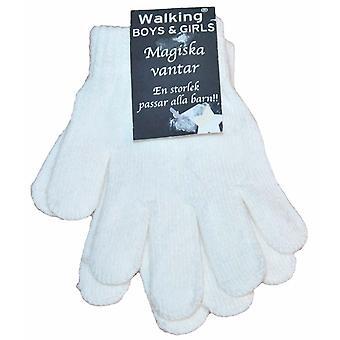 Magiczne rękawiczki do palców 1-pak biały