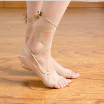 Yoga Dance Socks Anti Slip Five Toe Socks