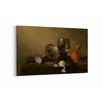 Malerei - Stillleben mit vergoldetem Bierkrug - 90x60cm