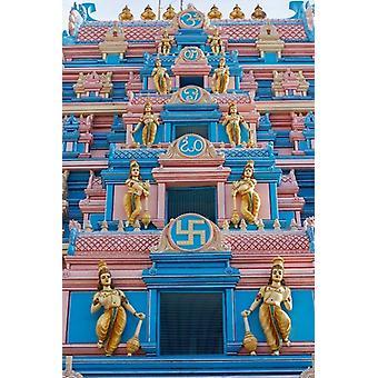 Temppelin Sai Baba ashram Intia Juliste Tulosta Ali Kabas