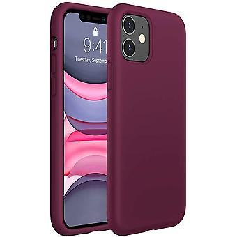 6.1 Inch(2019) Liquid Silicone Case Compatible With Iphone 11