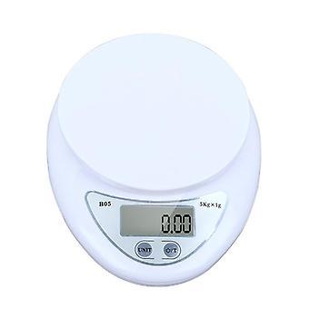 5kg / 1g kannettava digitaalinen asteikko