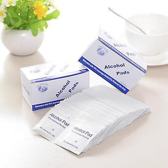 100pcs Alcohol Prep Swap Pad Wet Wipe Disposable Disinfection For Antiseptic