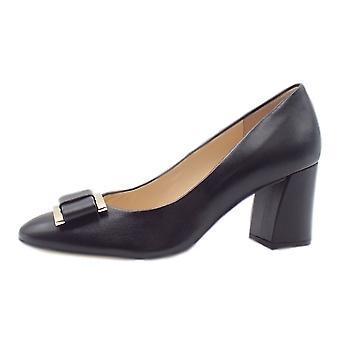 هوغل 9-10 5080 يتوهم كتلة كعب الأحذية الرسمية في الأسود