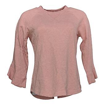 Lisa Rinna Collection Dame's Topp XXS Sweatshirt M / Flagre Ermet A351839